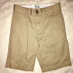 Children's place boys uniform style shorts. NWT